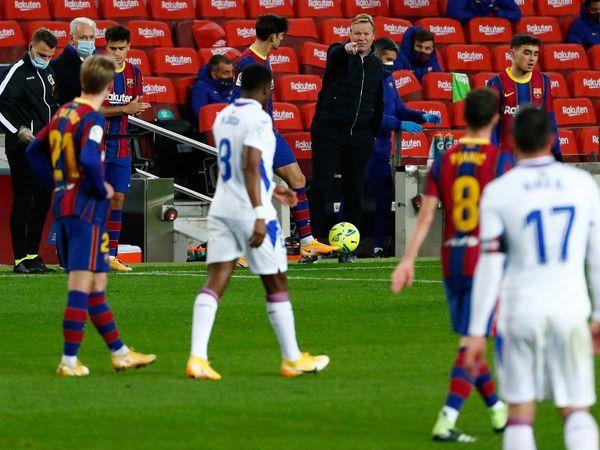 Bóng đá quốc tế chiều 30/12: Messi lắc đầu ngao ngán trong trận hòa của Barca