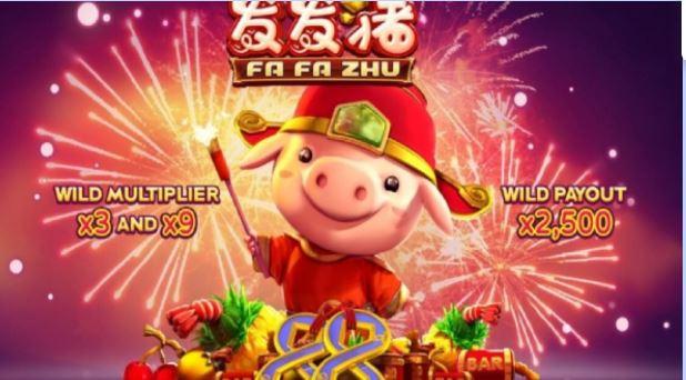 Fa Fa Zhu – chú heo thần tài siêu may mắn chỉ có trên jbo vnd