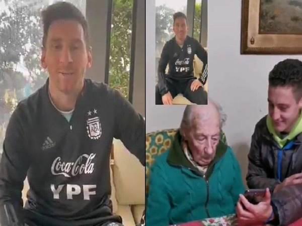 """Bóng đá Quốc Tế 17/7: Messi gửi lời cảm ơn tới """"fan cứng"""" 100 tuổi"""